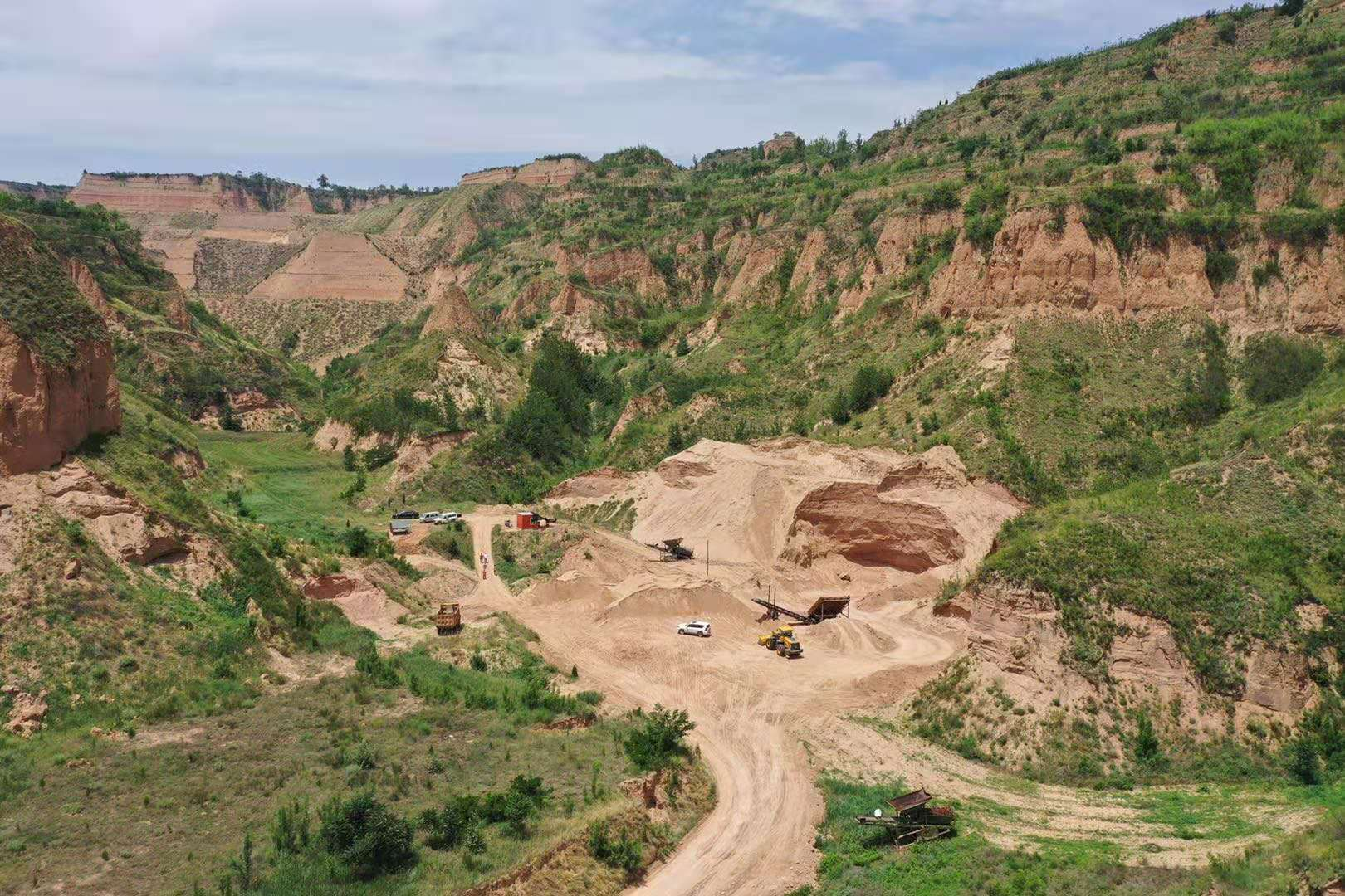 山西天然石英砂矿采矿权转让