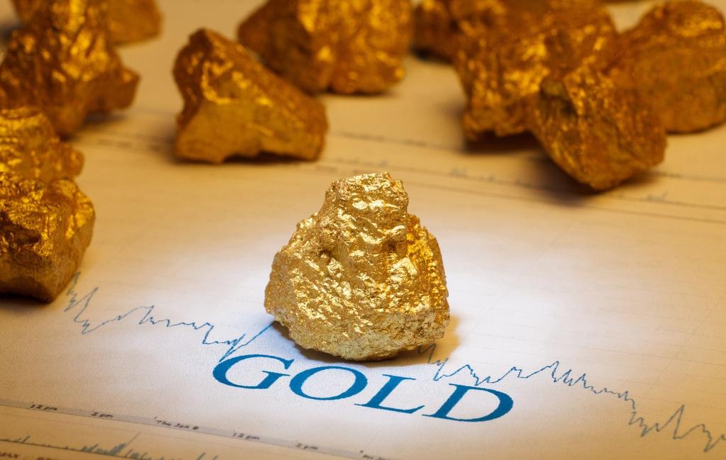 黄金收盘下跌,但是高于1900美元
